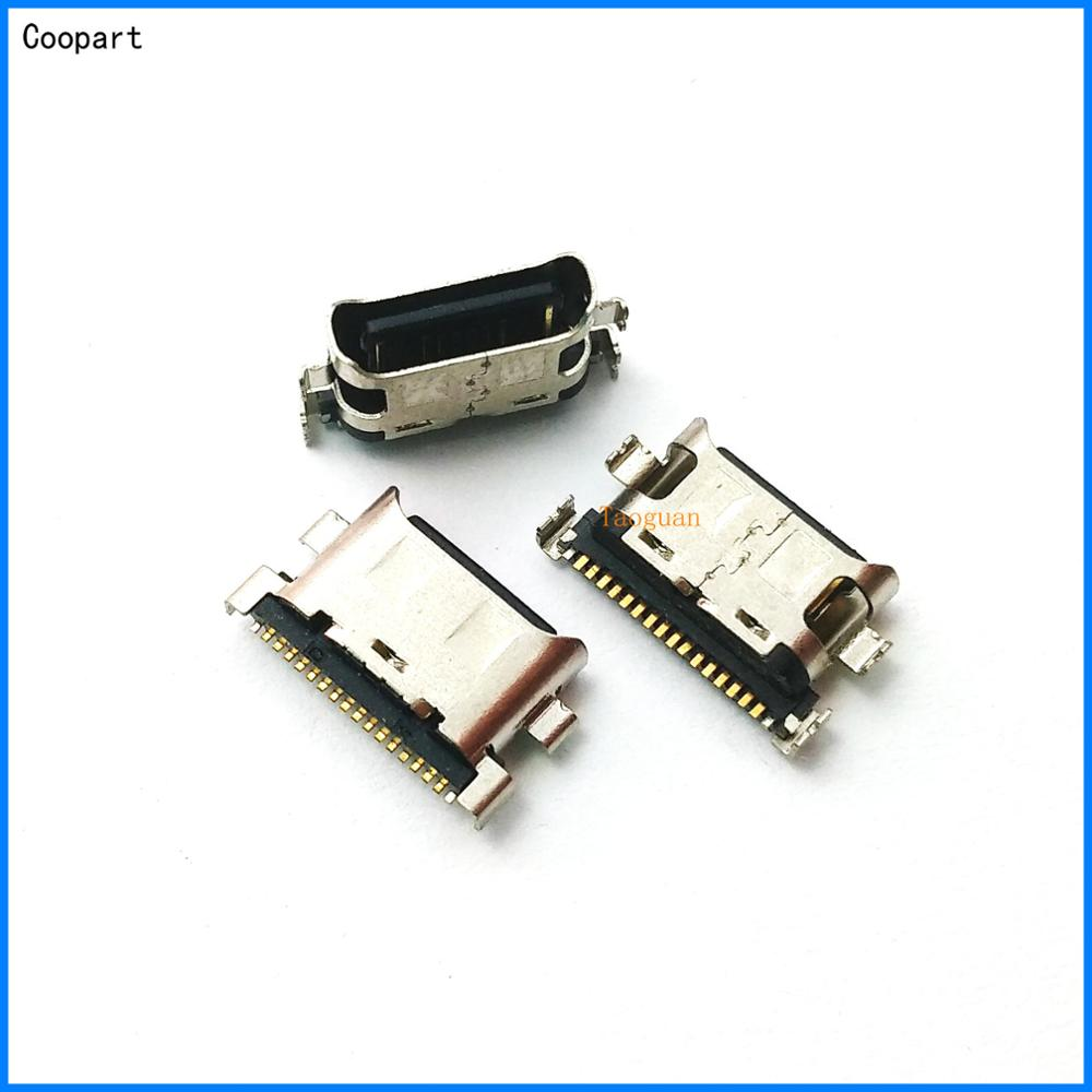 10pcs/lot Coopart New USB Charging Dock Port Connector For Samsung Galaxy A70 A60 A50 A40 A30 A20 A405 A305 A505 A705