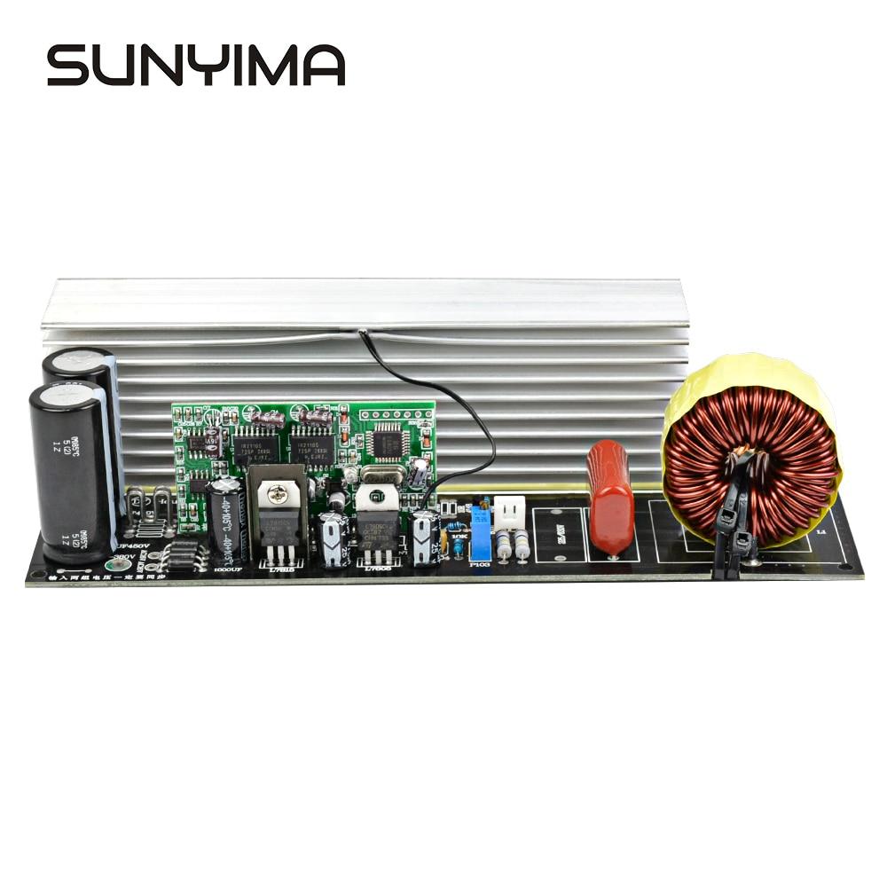 SUNYIMA 1 sztuk 2000W czysta fala sinusoidalna inwertor moc pokładzie Post sinusoida płyta wzmacniacza DIY zestaw z radiatory