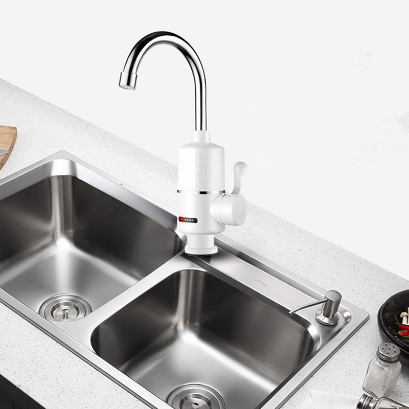 Electric Kitchen Water Heater Tap Instant Hot Cold Heating  Water Faucet Instantaneous Heater Faucet  3000w