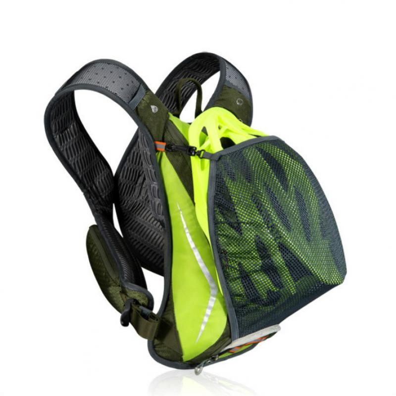 Image 2 - ランニング和のバックパック、防水 5L キャンプ膀胱ウォーターバッグ、通気性スポーツ hydrator サイクリングハイキングバックパック水筒類   -