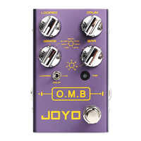 Joyo R-06 O.M.B LOOPER + tryb perkusyjny efekty gitarowe auto-wyrównanie Count-In części do gitary akcesoria efekty gitarowe