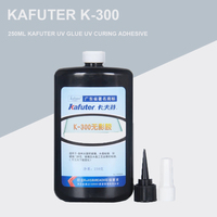 High Quality 250ml kafuter UV glue uv curing adhesive K 300 Special Large area glass bonding glass crystal crafts