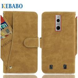 На Алиэкспресс купить чехол для смартфона vintage leather wallet haier titan t3 case 5.8дюйм. flip luxury card slots cover magnet stand phone protective bags