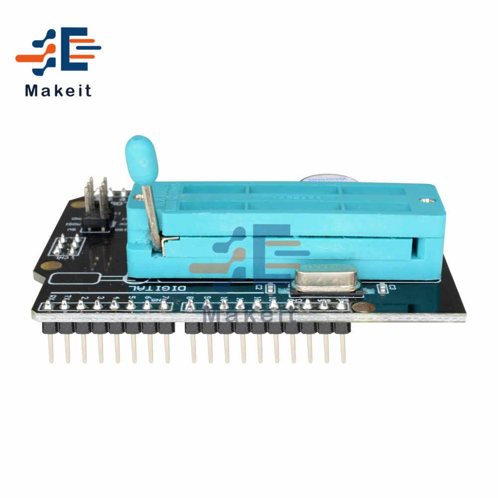 Программируемый расширительный щит AVR ISP с зуммером для Arduino Uno R3 Mega2560 Pro Mini Atmega328P, модуль загрузчика и горелки SPI