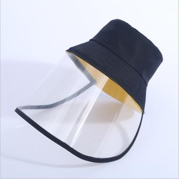 Virus Protection Hat Mask Men Helmet Viruses Face Safety Women Mask Respirator Hat Masks Surgical Shield