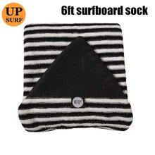6ft Surfboard Sock Qick-dry Surf Bag Carry Stretch terry Surfing Cover surf sock