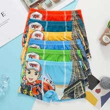 5 pcs/lot cartoon boys briefs panties baby underwear underpants 4-12T 24-28cm