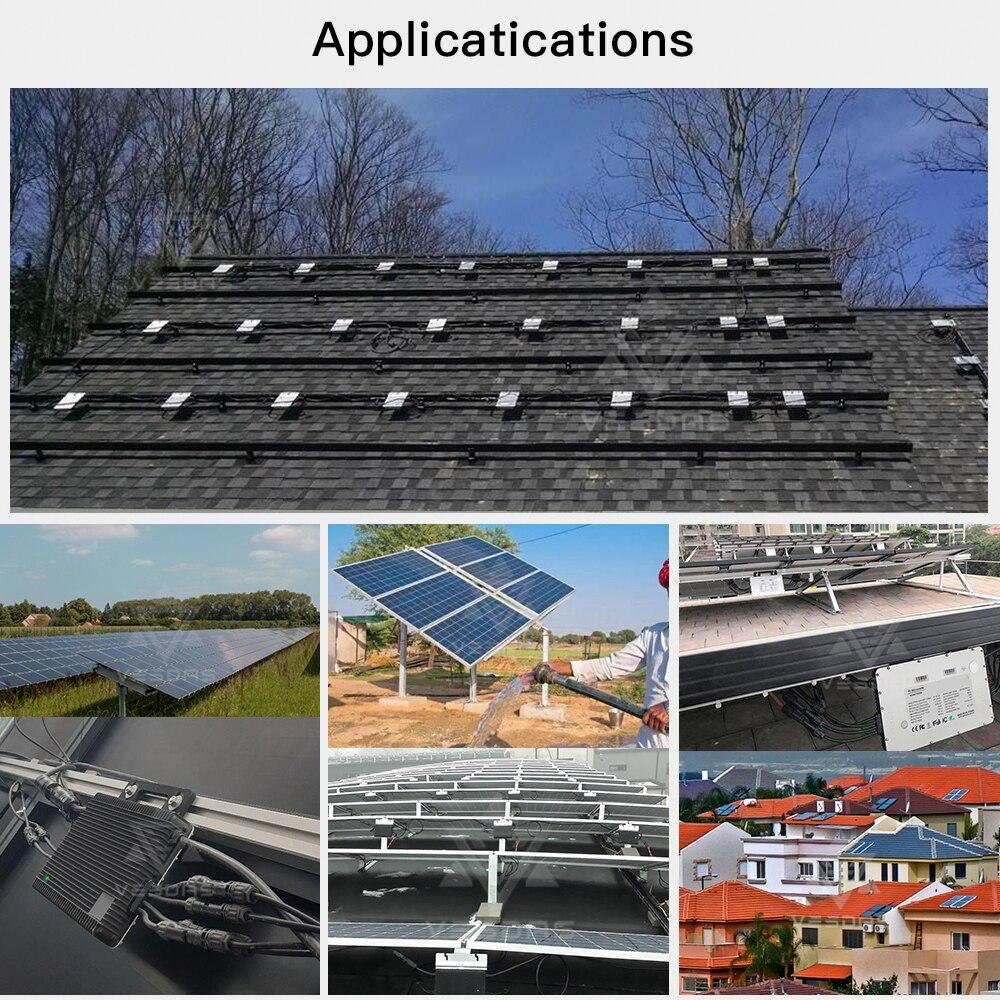 a 230vac para 4*375 painel solar