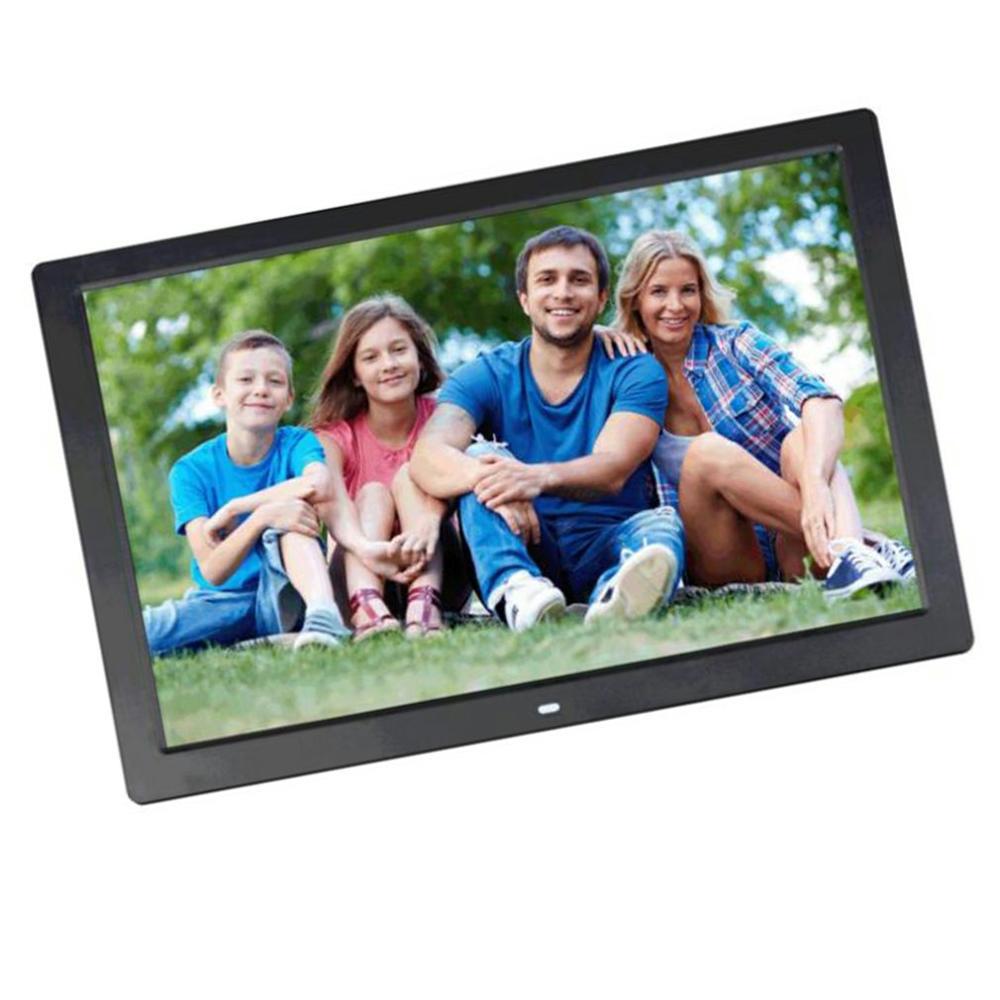 17 дюймов светодиодный экран с подсветкой HD Цифровая фоторамка электронный альбом фото музыкальный фильм полная функция хороший подарок - 5