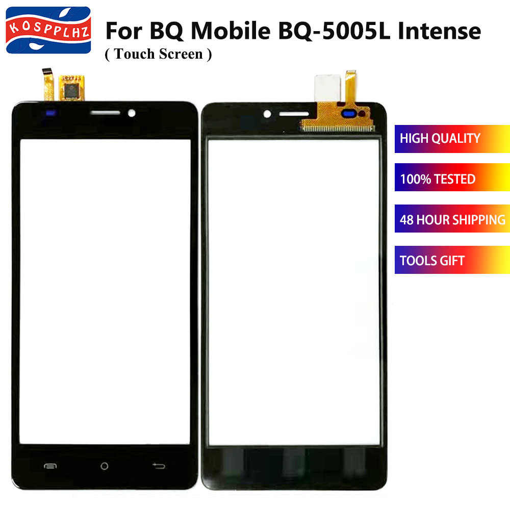 100% neue Für BQ Mobile BQ-5005L Intense BQ-5005L BQ5005L BQ 5005L Touch Screen Objektiv Sensor Touch Panel Ersatz
