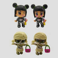 Glow In The Dark Spielzeug Original Nette Pinypon Puppen Abnehmbare Kinder Doubleface Aktion Spielzeug Figuren Puppen Geschenke Zufalls