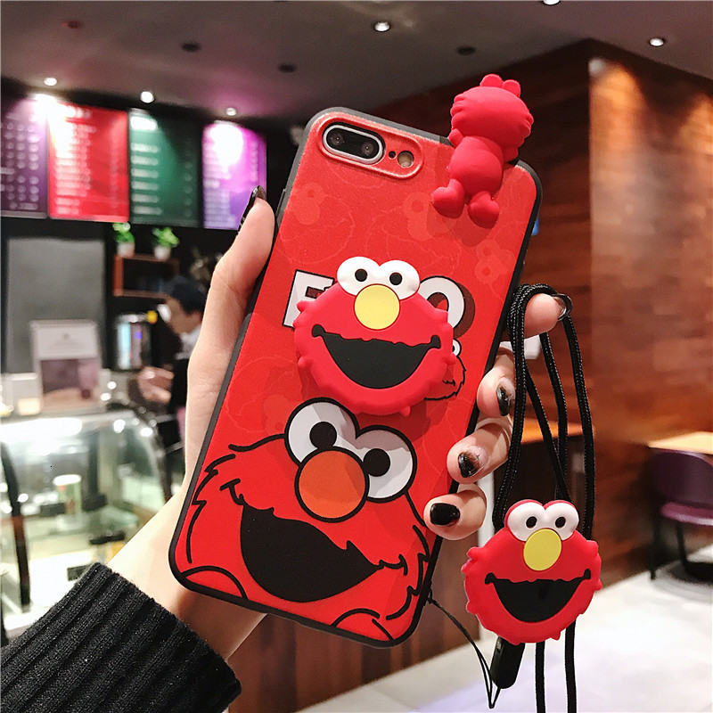 Image 5 - Creative cartoon cute Snoopy phone case for iPhone X XS XR XSMax 8 7 6 6S PluS doll pendant silicone drop protection cover-in Fitted Cases from Cellphones & Telecommunications