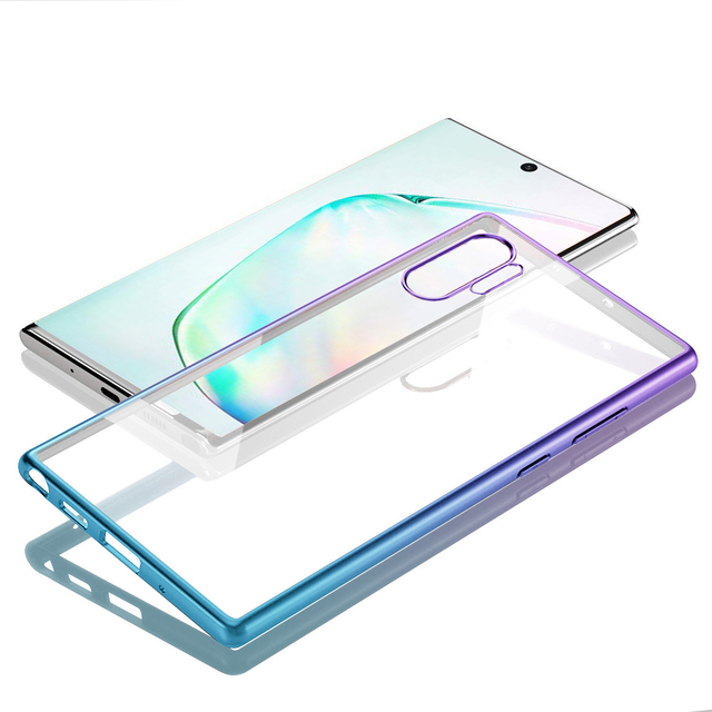Clear Transparent Galaxy Note 10 Plus Cover