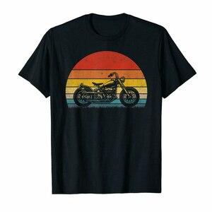 Black Vintage Biker Motorcycle