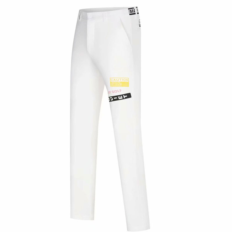 New Sports Golf pants Spring and Summer Solid Fashion casual MARK&LONA  Men Golf clothing Breathable Golf trousers
