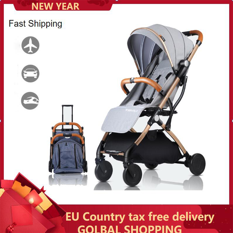 Baby Stroller Lightweight Portable Travel System Can Be On Yhe Airplane Prams For Newborn B B Cart  Girl Boy Fast Shipping