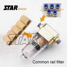 Filtro diésel S0858 Star para probador de inyector de combustible, filtros para banco de prueba de Common Rail de alta presión, pieza S0848, S0838