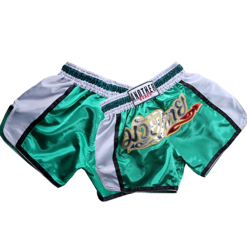 Pant Sweat Tigers Short Muay-Thai-Shorts MMA Boxing Fight Boxeo Printing Loose Quick-Drying