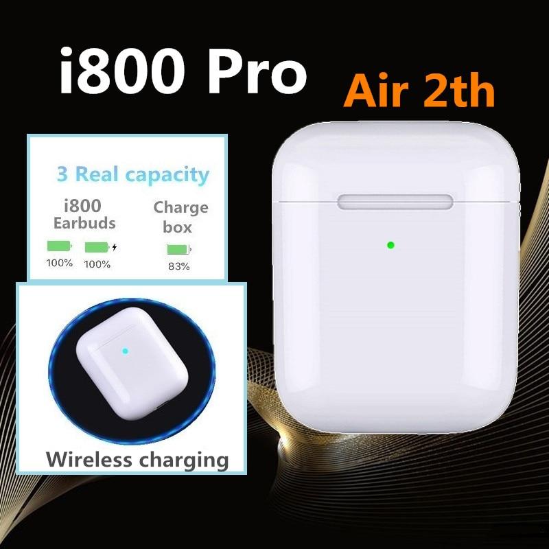i800 Pro TWS Pop up 1:1 Replica Separate use QI Wireless Charging Earphones PK w1 H1 chip i20 i30 i60 i100 i200 i500tws i1000tws gear shift