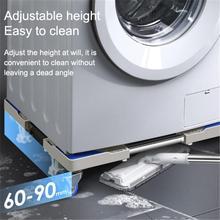 Universal Refrigerator Washing Machine Base Heightened Stainless Steel Refrigerator Washing Machine Shelf Base Bracket цена и фото