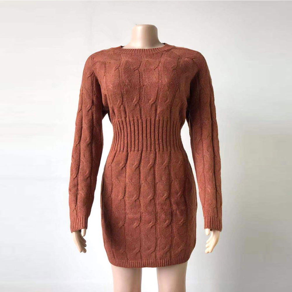 2019-Womens-Knitted-Dress-Autumn-Fall-Winter-Vintage-Ladies-Slim-Sweater-Dress-Long-Sleeve-Knit-Bodycon