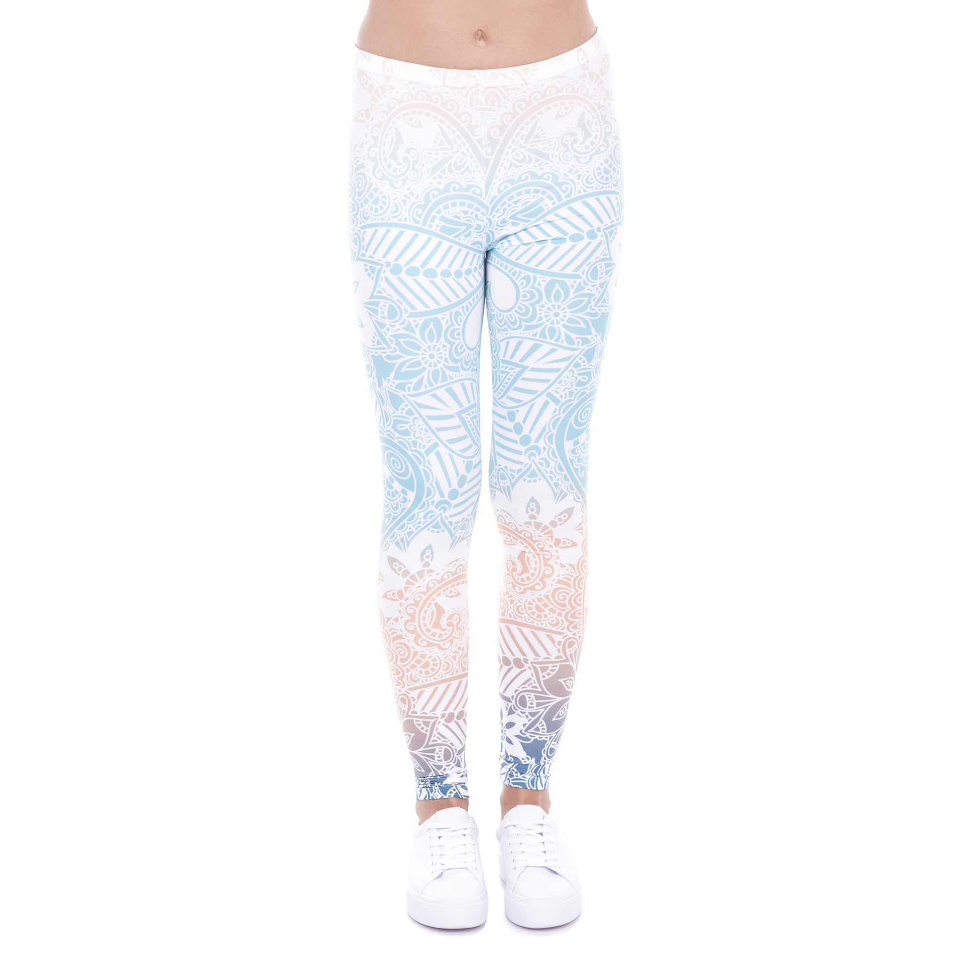Zohra AliExpress Wish Hot Selling 3D Digital Printing Leggings Women's Amazon Eaby Cross Border Europe And America Foreign Trade