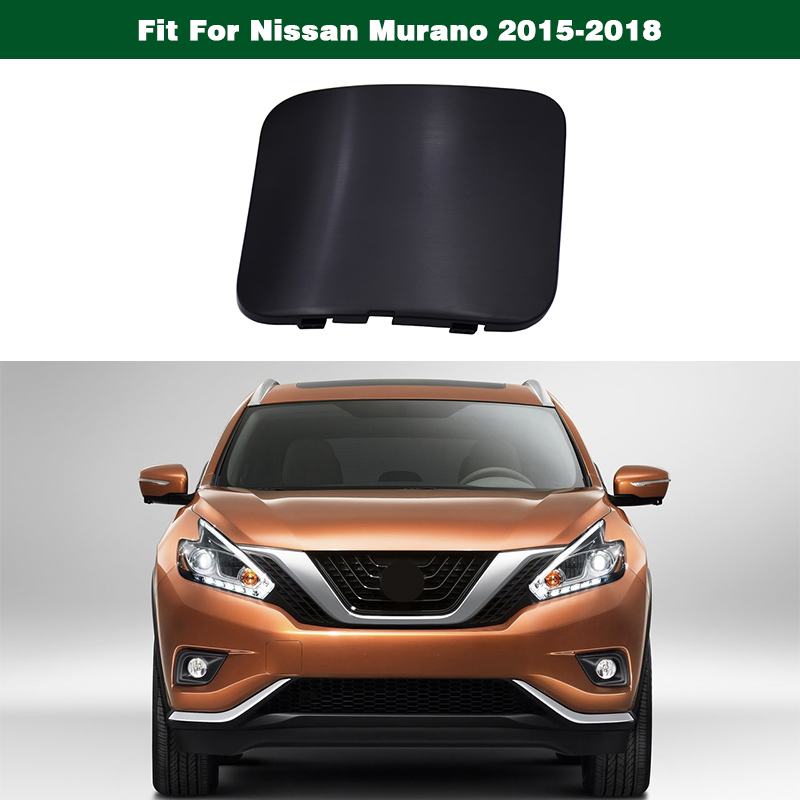 Car accessories QDAEROHIVE front Bumper Trailer Cover Tow Bracket Cover Bumper Tow Hook Cover Cap for Nissan X-TRAIL 2017-2019 Color : Grey
