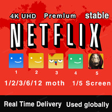 Netflixes Premium Acc Worldwide 4K HD 1-5 Screens Avaliable 100% stable Portable