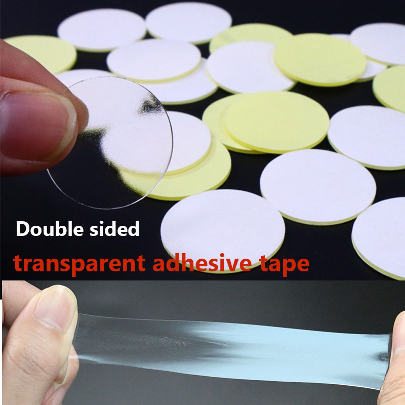 Transparent round 10-50mm acrylic double-sided adhesive for fixing automobile parts no mark adhesive strong movable adhesive dot