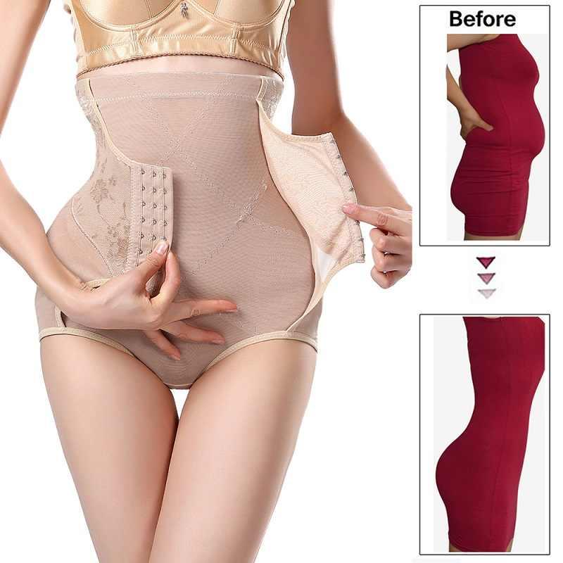 cinta modeladora para cintura emagrecimento corretor de Cintura formadora emagrecimento roupa interior shapewear corpo feminino cintura alta calcinha controle de barriga spanx puxando espartilho reduzindo shapers