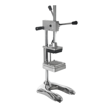 ITOP Vertical Potato Chip Press Machine French Fry Cutter Fruit Apple Vegetable Salad Slicer Commercial Kitchen Potato Slicer commercial vegetable slicer onion slicing potato cutter machine electric vegetable potato carrots onions cutting machine 1pc