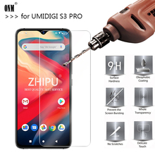 25 Pcs Tempered Glass For UMIDIGI S3 PRO Screen Protector 2.5D 9H Protective Film