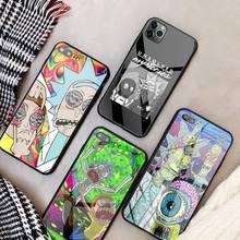 Coque Phone-Case Ricks Morties Funny Carton 8-Plus cover Mini for 11 12-pro/Max/Xr/..
