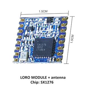 Image 3 - 2p 868MHz super low power RF LoRa module SX1276 chip Long Distance communication Receiver and Transmitter SPI IOT with antenna