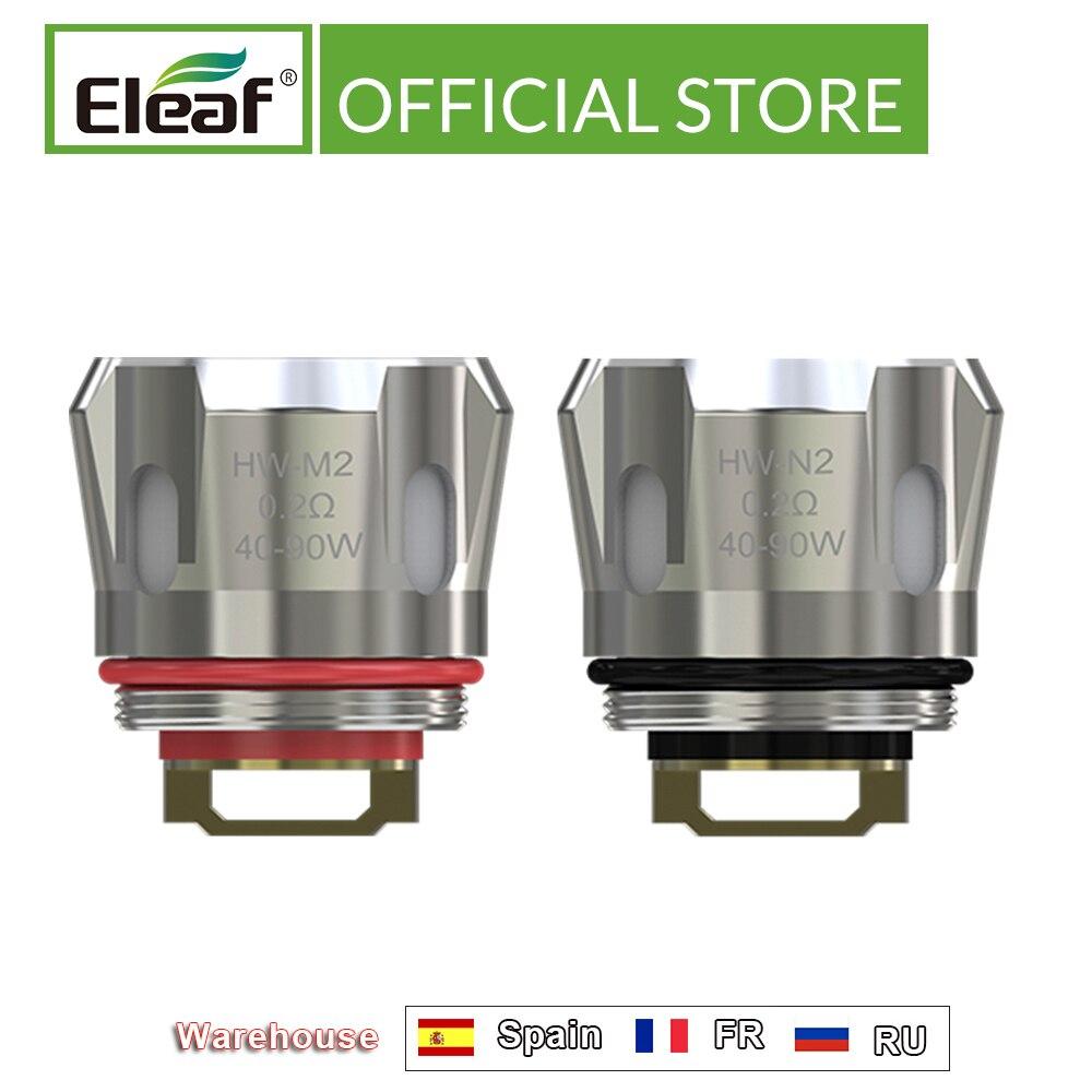 [RU/US] Original Eleaf HW Coil Head HW-M2/HW-N2 0.2ohm Head 40w-90w For IJust 21700 Kit/iSitck Mix Kit Electronic Cigarette
