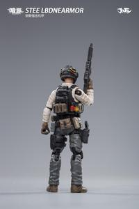 Image 5 - (2pcs/lot)JOYTOY 1/25 action figure robot Military Steel Bone Armor Gray Mecha Collection model toys Christmas present gift
