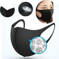 안티 방진 얼굴 입 마스크 빨 마스크 재사용 가능한 보호 커버 마스크 남여 얼굴 커버 야외 자전거 러닝 스포츠