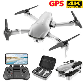 DJl New F3 GPS Drone 4K 5G Wifi Foldable 4K/1080P HD Camera Quadcopter Follow Me FPV 25Mins Altitude Hold Durable RC Drone Dron rc airplanes s70w rc drone auto follow altitude hold 720p wifi camera gps return remote control fpv rc quadcopter drone