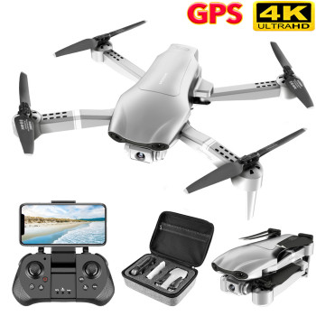 DJl New F3 GPS Drone 4K 5G Wifi Foldable 4K/1080P HD Camera Quadcopter Follow Me FPV 25Mins Altitude Hold Durable RC Drone Dron