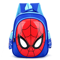 New Boys 3 6 Year Old 3D School Bags Child Spiderman Book bag Kids Shoulder Bag Satchel Knapsack 2020 Hot Waterproof Backpacks