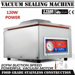 VEVOR Vacuum Sealer 120W with 25.5cm Sealing Bar Vacuum Packing Machine Commercial Grade Stainless Steel (DZ-260)