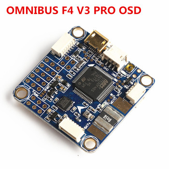 Betaflight F4 Pro V3 Flight Controller Board Built-in OSD Barometer for FPV Racing Drone f cloud new arrivals matek f405 wing with osd f4 flying wing available for flight control