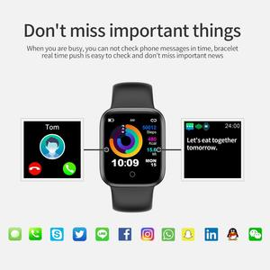 Image 4 - RUNDOING NY07 women smartwatch Waterproof Blood pressure Heart rate fitness tracker male sport smart watch For Android IOS