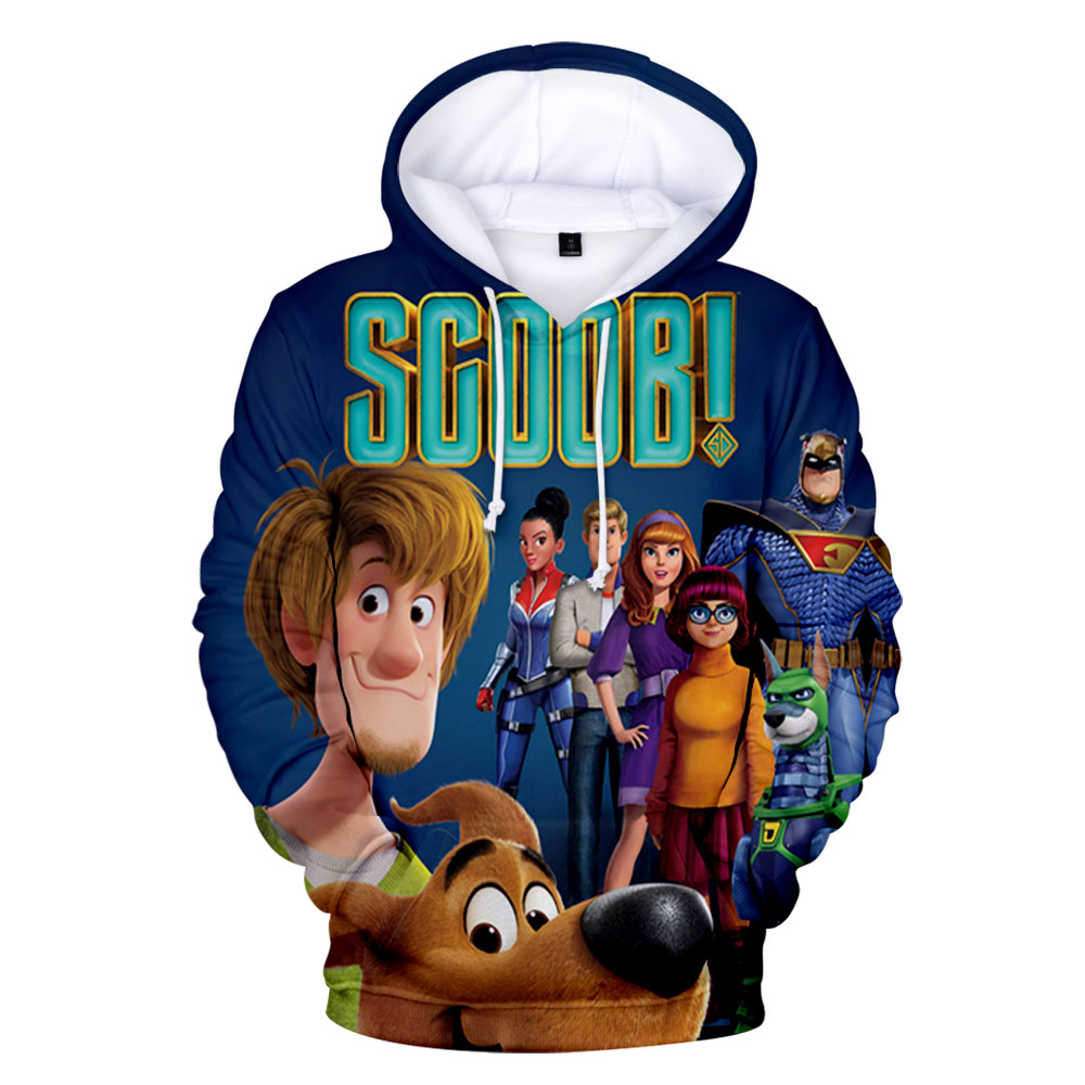 New 2020 Scoob! Movie Protagonist Scooby-Doo 3D Print Hooded Sweatshirt Adult/Child Men/Women Casual Funny Hoodies Clothes