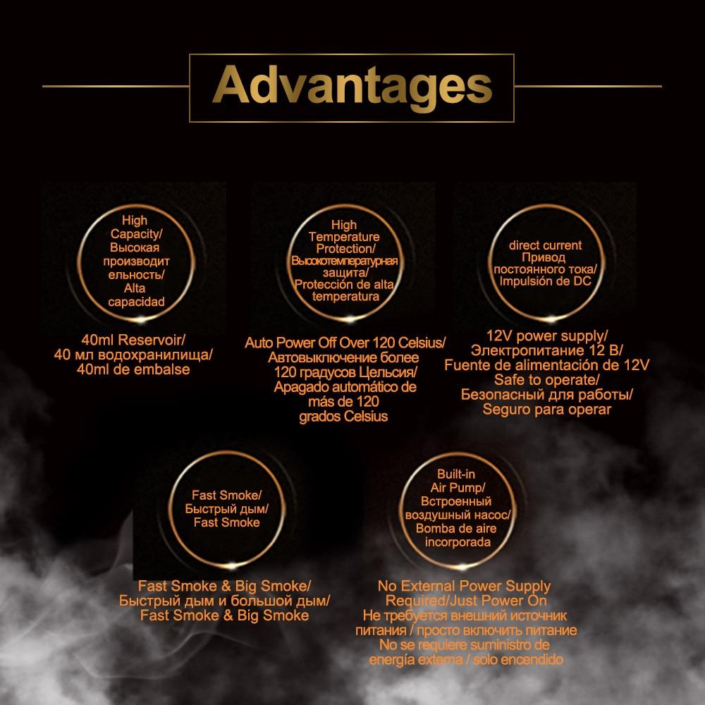 Image 2 - AUTOOL SDT202 автомобильный генератор дыма автомобильный детектор утечки дыма трубных систем тестер утечки дыма инструмент диагностики труб SDT 202-in Газоанализаторы from Автомобили и мотоциклы on