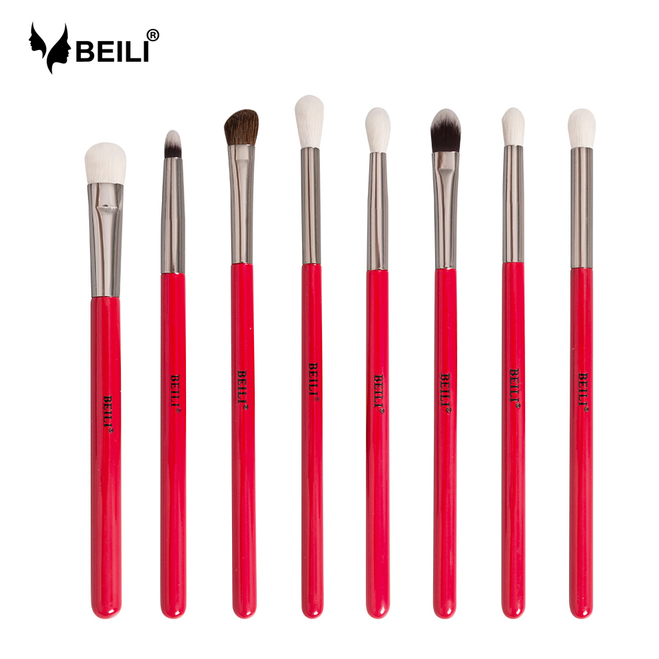 BEILI Makeup Brush 1PCS Professional Natural Hair Eye Shadow Brush Blender Crease Makeup Cosmetics 228/221/222/223/235/134/225