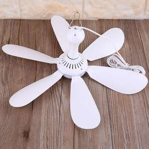 Fans Air-Cooler Ceiling-Fan Outdoor Camping Usb-Powered Hanging New 5V for Dormitory
