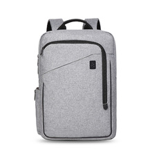 Laptop Backpack for Men Unisex School Bag Travel Teenage Business 15 Inch Backpack Bag Solid Oxford Large-capacity Student Bag недорого