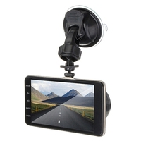 4 Inch Front And Rear Dual Lens Driving Recorder Hd 1080P Car Vehicle Dvr Edr Dashcam With G Sensor Rearview Functions