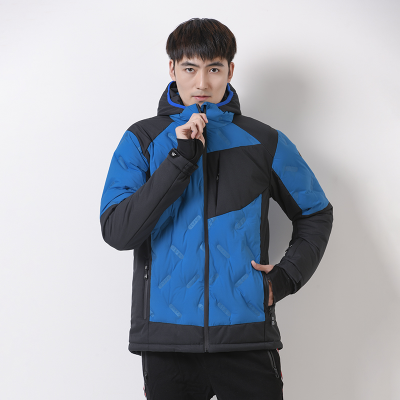Brand Clothing Men Winter Warm -20 degrees Jacket Trekking Camping Climbing Skiing Hiking Outdoor Coat Waterproof Outdoor Sport